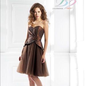 Women dress by B2 Cocoa size 10 Orig. $189
